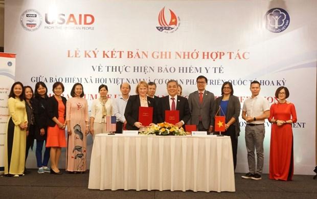 L'Assurance sociale du Vietnam et l'USAID cooperent dans le developpement du systeme de sante durable hinh anh 1