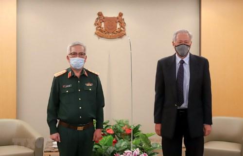 Le Vietnam et Singapour tiennent leur 11e dialogue sur la politique de defense hinh anh 1