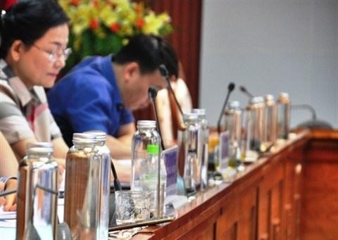 Hanoi : Les dechets plastiques dans le collimateur du Comite populaire hinh anh 1
