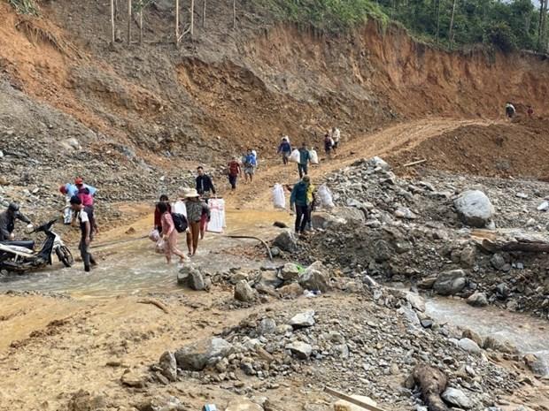 Intemperies : Singapour aide le Vietnam, le Cambodge, le Laos et les Philippines hinh anh 1