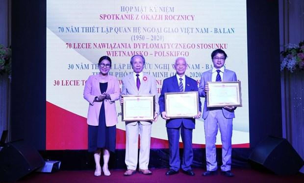 Les 70 ans de relations diplomatiques Vietnam-Pologne fetes au Sud hinh anh 1