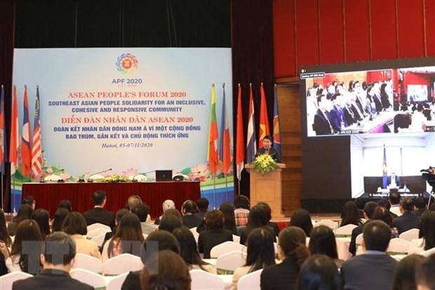 Cloture du Forum des peuples de l'ASEAN 2020 hinh anh 1