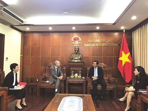 L'AUF œuvre a renforcer l'enseignement superieur vietnamien hinh anh 1