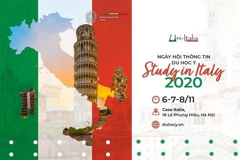 "Le salon ""Etudier en Italie 2020"" a Hanoi hinh anh 1"