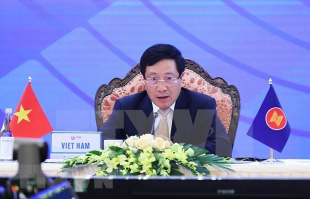 L'ASEAN continue a avancer fermement et collectivement hinh anh 1