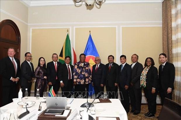 ASEAN 2020: l'Afrique du Sud signe un document d'adhesion au TAC hinh anh 1