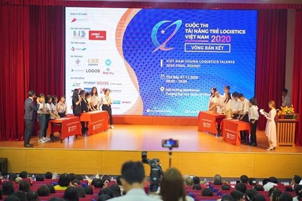 """Douze equipes qualifiees pour la finale du concours """"Viet Nam Young Logistics Talents 2020"""" hinh anh 1"""