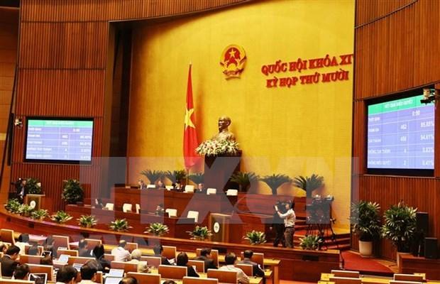 L'Assemblee nationale adopte la Loi sur les garde-frontieres hinh anh 1