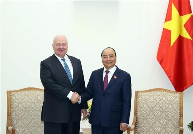 Le PM recoit l'ambassadeur de Russie au Vietnam hinh anh 1