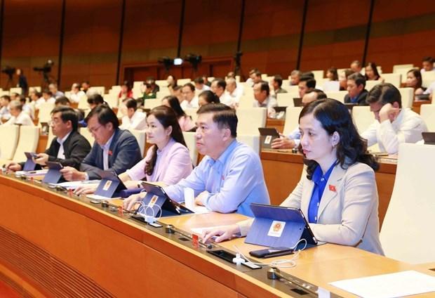 L'AN adopte une resolution sur le budget previsionnel de l'Etat pour 2021 hinh anh 1