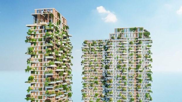 La tour verte d'Ecopark louee par un magazine americain hinh anh 1