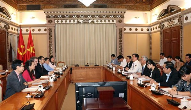 Ho Chi Minh-Ville renforce sa cooperation avec la BAD hinh anh 1
