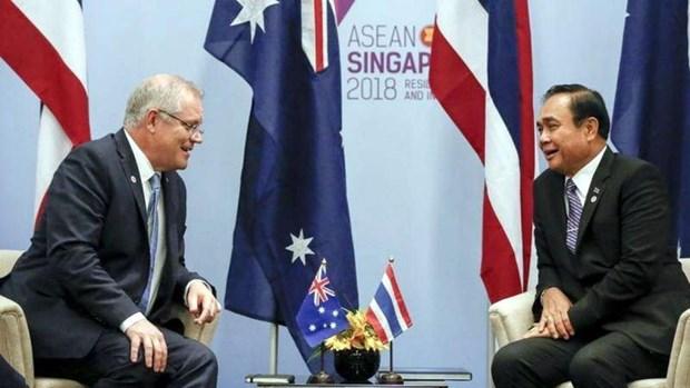 La Thailande et l'Australie elevent leurs liens au rang de partenariat strategique hinh anh 1