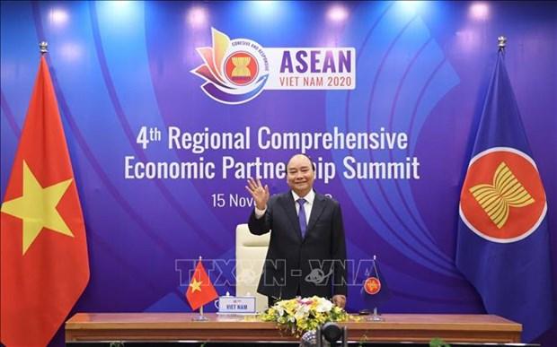 Ouverture du 4e sommet regional de partenariat economique global hinh anh 1