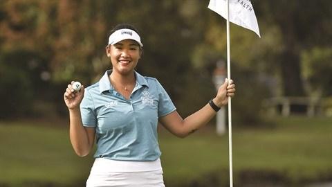 Les talentueuses filles du golf vietnamien hinh anh 1