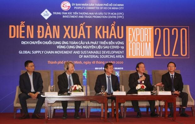 Des pistes pour stimuler les exportations et la reprise economique hinh anh 1