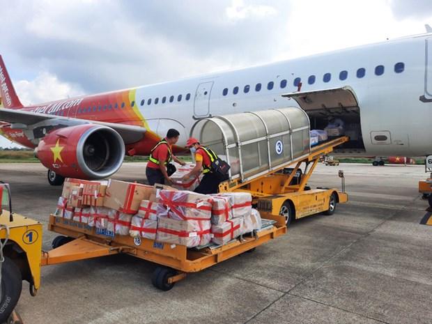 Vietjet et UPS s'associent pour le transport de marchandises depuis l'Asie hinh anh 1