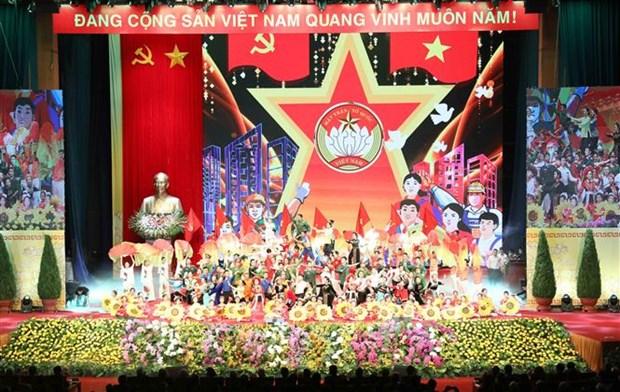 Le dirigeant Nguyen Phu Trong assiste a la celebration des 90 ans du Front de la Patrie du Vietnam hinh anh 1