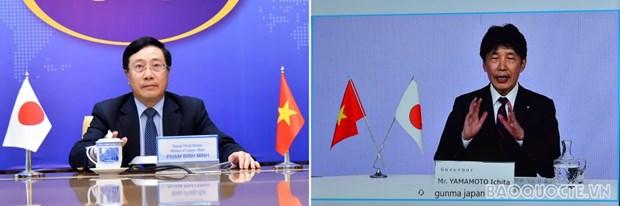Le vice-PM Pham Binh Minh salue les liens avec le Japon et la prefecture de Gunma hinh anh 1