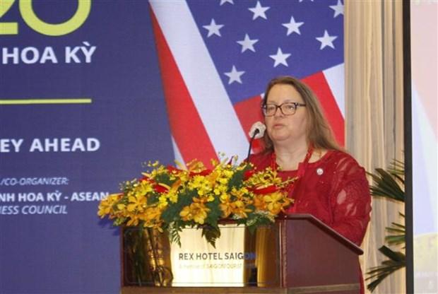 Forum du commerce Vietnam-Etats-Unis a Ho Chi Minh-Ville hinh anh 2