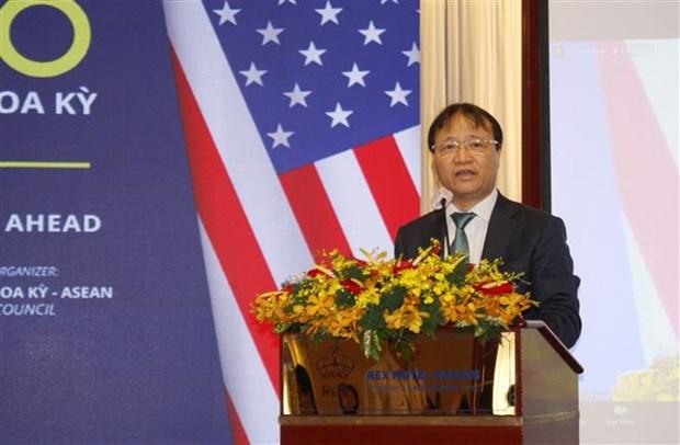 Forum du commerce Vietnam-Etats-Unis a Ho Chi Minh-Ville hinh anh 1