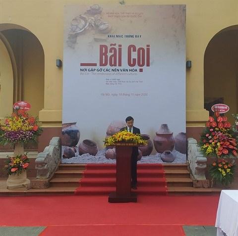 Bai Coi, lieu de rencontre de cultures, en exposition a Hanoi hinh anh 1