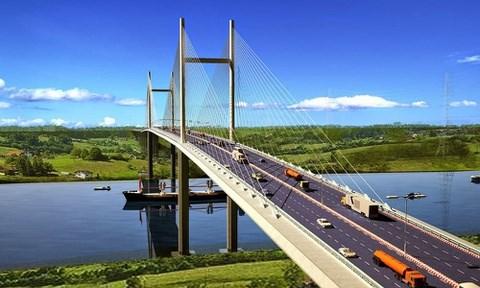 Trois ponts de 2.300 milliards de dongs relieront Ho Chi Minh-Ville au delta du Mekong hinh anh 1