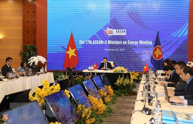 Les ministres de l'Energie de l'ASEAN+3 s'engagent a promouvoir une reprise post-pandemique durable hinh anh 1