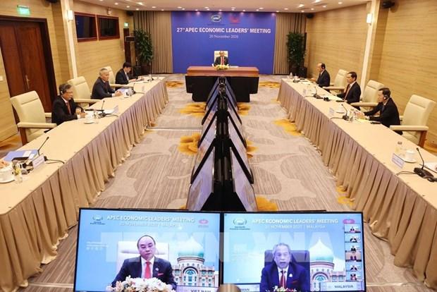 Ouverture de la 27 conference des dirigeants economiques de l'APEC hinh anh 1