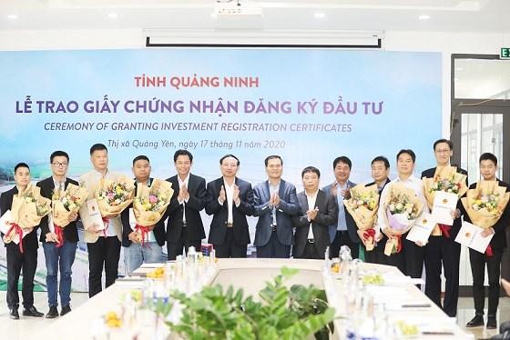 Neuf nouveaux projets d'IDE autorises a Quang Ninh hinh anh 1