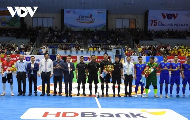 Coup d'envoi de la coupe nationale Futsal HDBank 2020 hinh anh 1