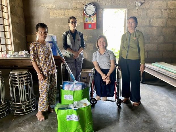 L'USAID soutient les personnes handicapees et sinistrees a Thua Thien-Hue hinh anh 1