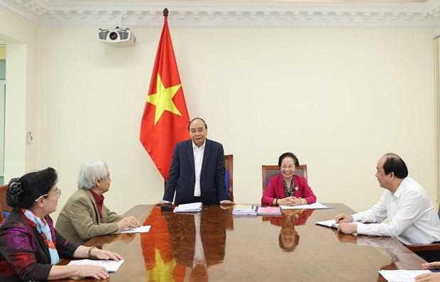Le PM appelle a unir les efforts pour construire une societe apprenante hinh anh 1