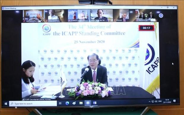 Le Vietnam participe a la 34e reunion des partis politiques asiatiques hinh anh 1