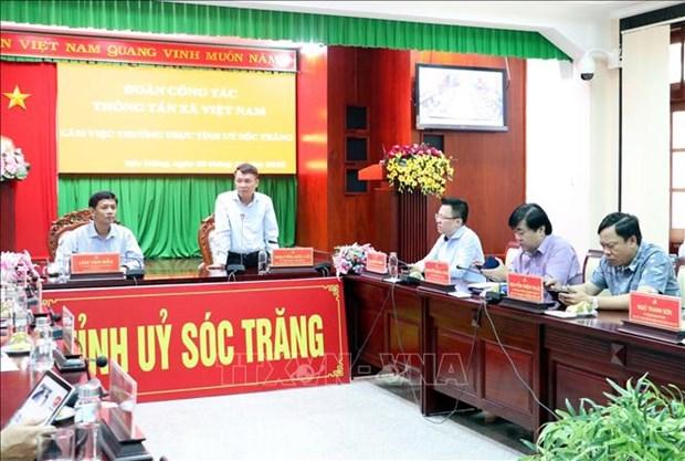 La VNA cherche a intensifier la connexion d'information avec les localites du delta du Mekong hinh anh 1