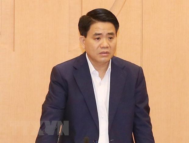 Poursuivre en justice l'ancien president du Comite populaire de Hanoi Nguyen Duc Chung hinh anh 1