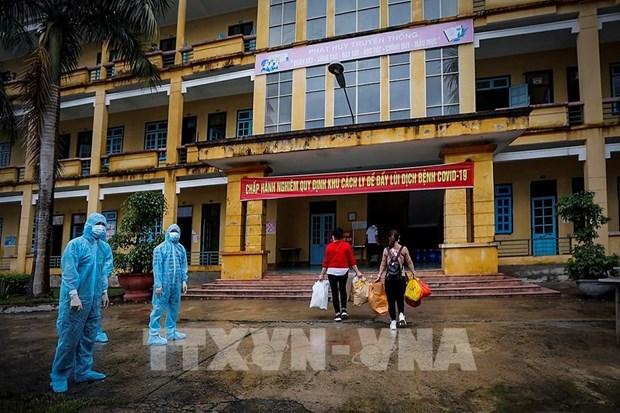 COVID-19 : le Vietnam recense dix nouveaux cas ce jeudi hinh anh 1