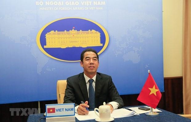 Consultation politique Vietnam-Kazakhstan au niveau de vice-ministre hinh anh 1