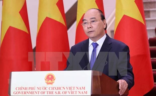 Le PM Nguyen Xuan Phuc a l'ouverture en ligne de la 17e Foire Chine-ASEAN hinh anh 1