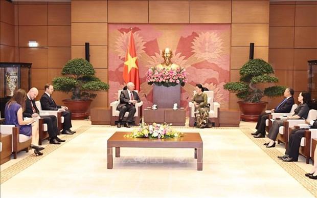 Les relations parlementaires Vietnam-Russie connaissent des progres notables hinh anh 1