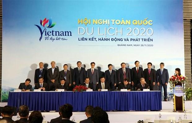 Conference nationale du tourisme a Quang Nam hinh anh 1