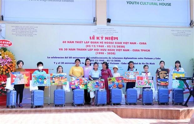 Ho Chi Minh-Ville fete l'anniversaire des relations Vietnam-Cuba hinh anh 1