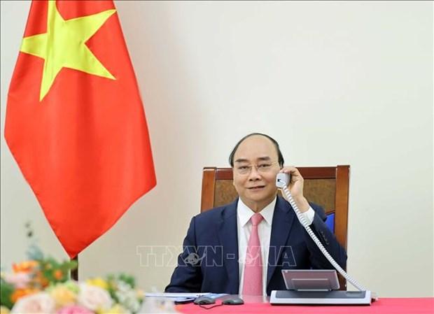 Vietnam-Pays-Bas : Nguyen Xuan Phuc s'entretient au telephone avec Mark Rutte hinh anh 1