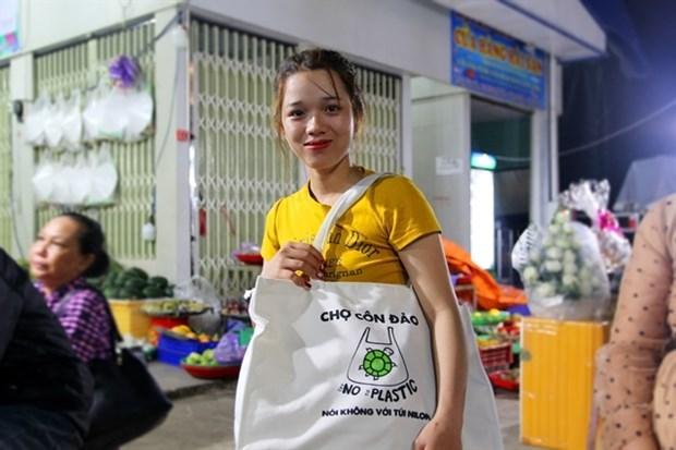 L'ile de Con Dao lance un programme zero dechet plastique hinh anh 1