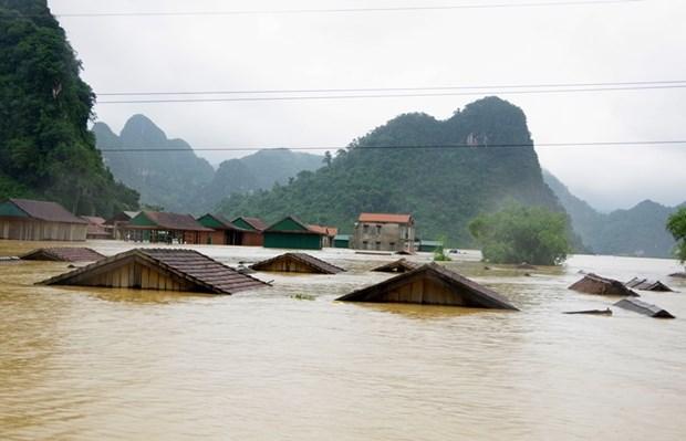 Inondations au Centre: plus de 811,2 millions de dollars de pertes en novembre hinh anh 1