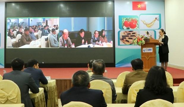 Des entreprises vietnamiennes et chinoises discutent de l'offre et de la demande de technologies hinh anh 1