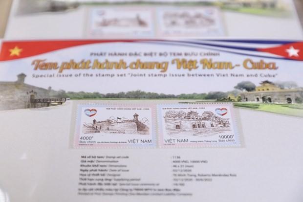 L'emission conjointe de timbres marque les 60 ans des liens Vietnam-Cuba hinh anh 1