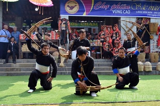 """""""Couleurs des fleurs"""" dans le Village culturel et touristique des ethnies du Vietnam hinh anh 2"""