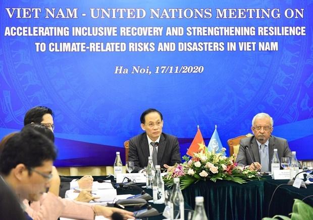 Edification d'un cadre de cooperation au developpement Vietnam-ONU pour la periode 2022-2026 hinh anh 1