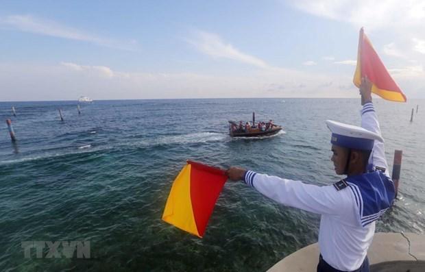 Le Vietnam demande a la Chine de respecter sa souverainete en Mer Orientale hinh anh 1